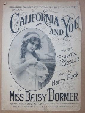 1914 Song hit for Daisy Dormer
