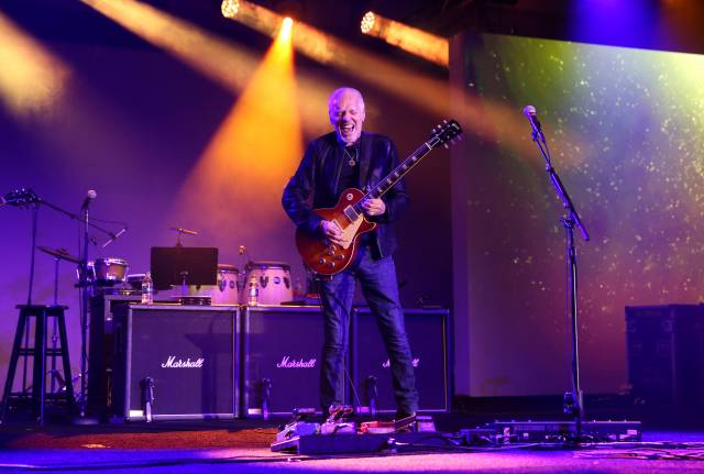 Peter Frampton performs onstage at the TEC Awards during the 2019 NAMM Show at the Hilton Anaheim on Jan. 26, 2019, in Anaheim, Calif.