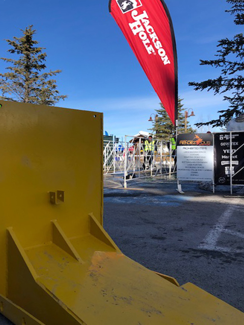 MERIDIAN Archer 1200 Vehicle Mitigation Barriers Added to This Year's Jackson Hole Rendezvous Event