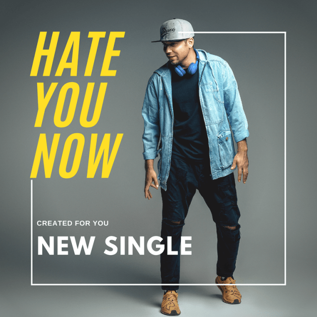 'Zizzo World' is back with a dynamite hot pop drop as he launches the passionate single  'Hate you now'