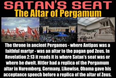 Mysteries of the Sun and Satan's Seat