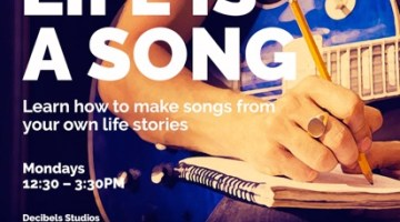 MELBOURNE: Life Is A Song – Songwriting Workshop