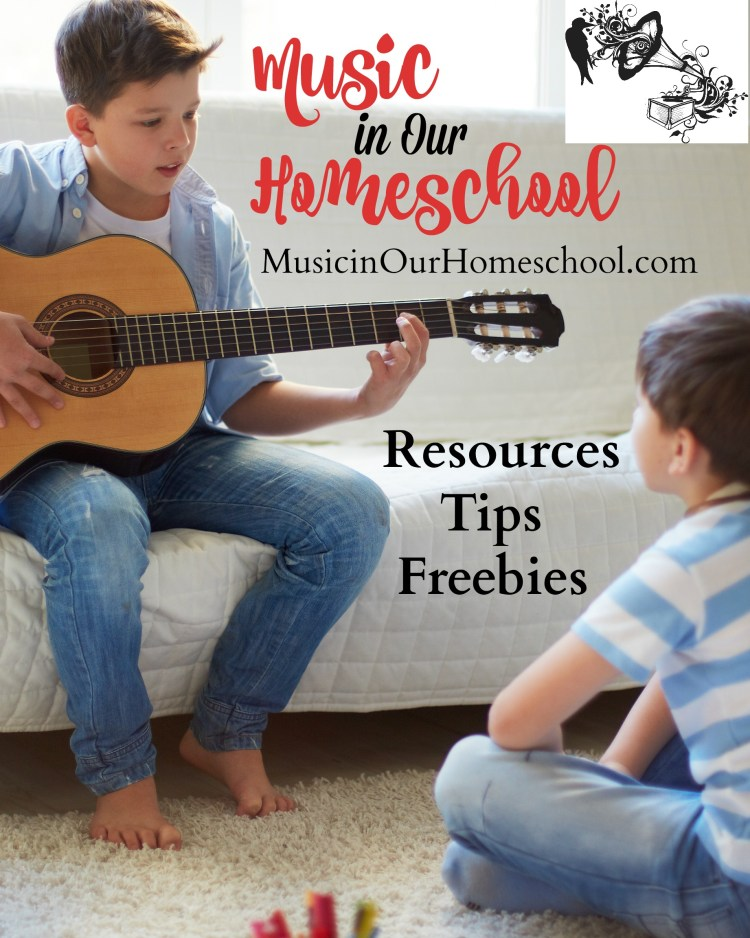 Music in Our Homeschool ~ get your music education resources, tips, and freebies here #homeschoolmusic #musicinourhomeschool #musiceducation #musiccurriculum