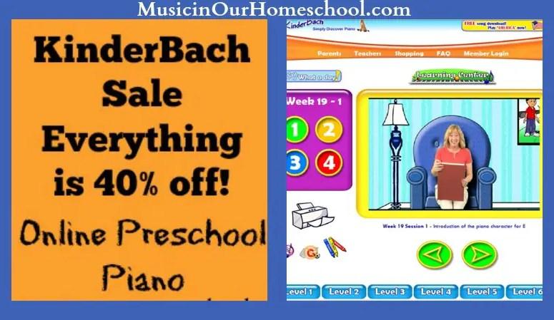 KinderBach Sale!