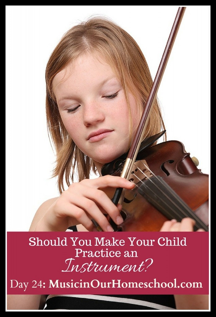 Should You Make Your Child Practice an Instrument