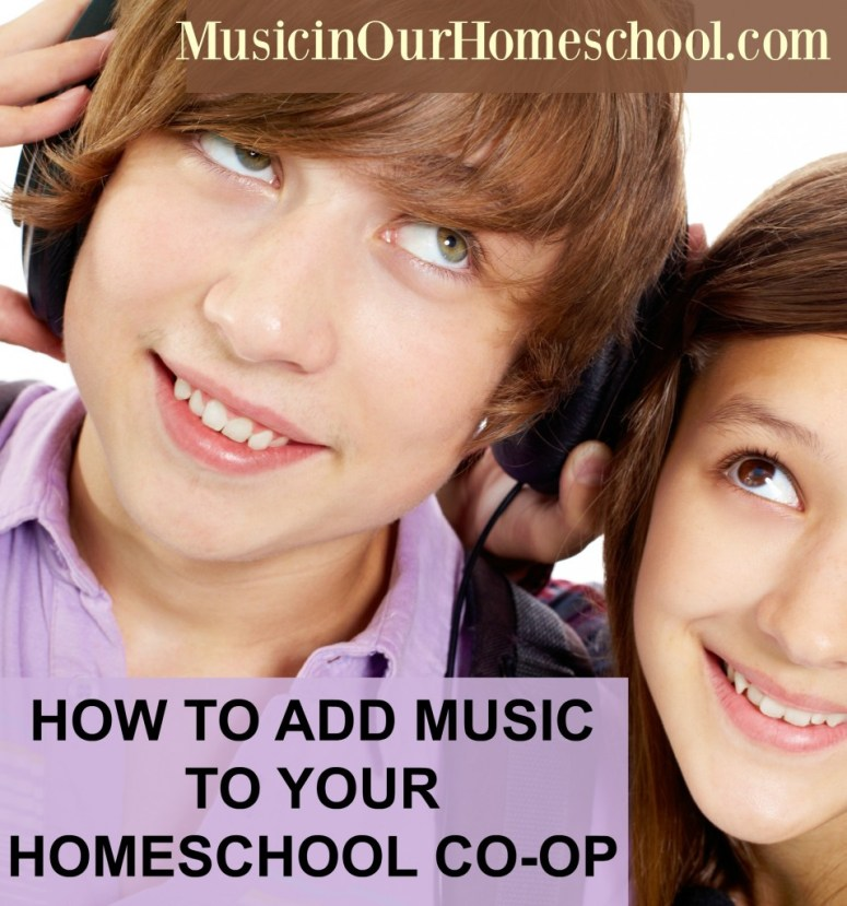 How to Add Music to a Homeschool Co-op