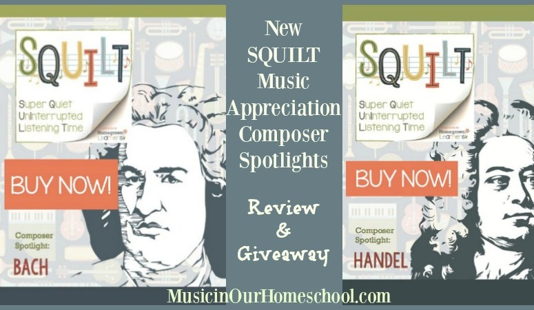 Composer Spotlight Bach -Review & Giveaway- New SQUILT products