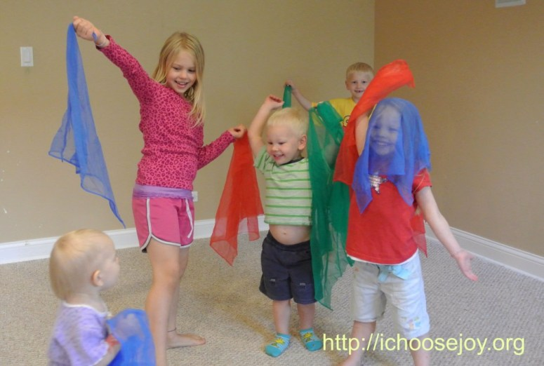 Music and Movement at Homeschool Co-op
