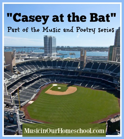 Casey at the Bat part of the Music & Poetry series