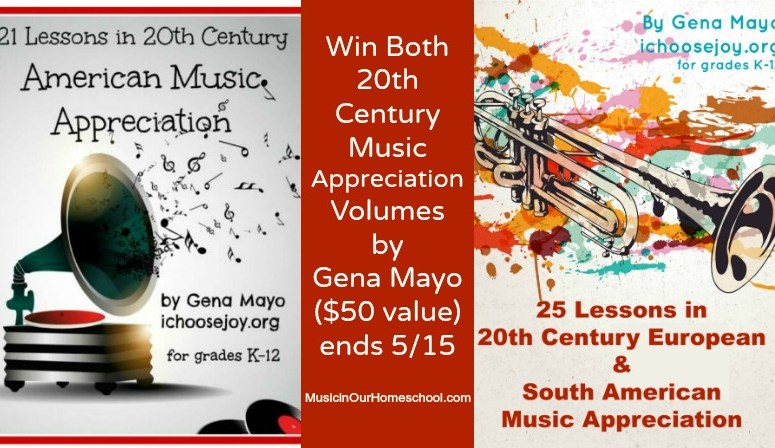 Enter to Win Both Volumes of 20th Century Music Appreciation Curriculum!