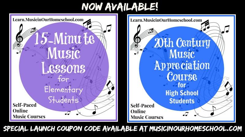Learn.MusicinOurHomeschool.com Launch graphic
