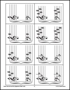 Music-Intervals-and-Key-Signatures-Flash-Cards-image-3