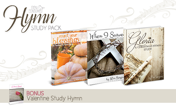 30% off Hymn Studies & Back to School Bash (with freebies & giveaways)