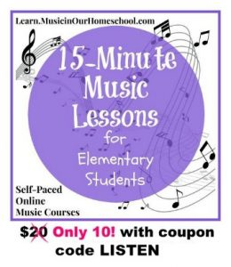 15-minute-music-lessons-for-elementary-students-sale-10-with-code-listen