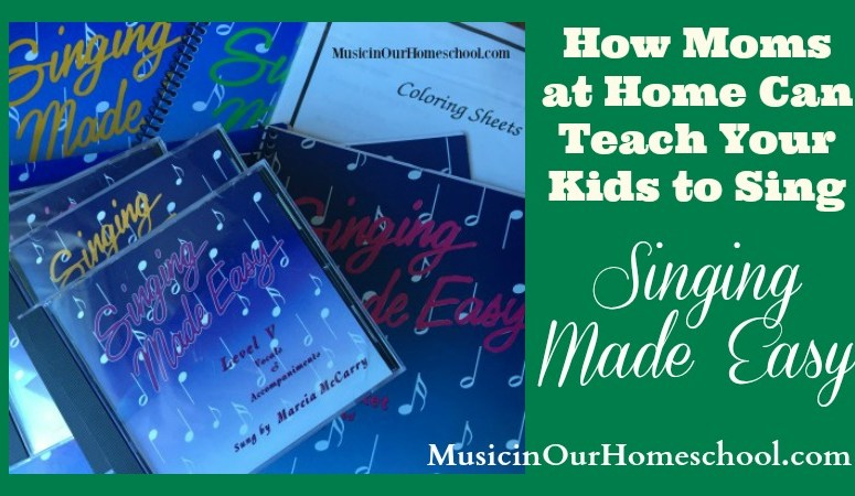 How Moms at Home Can Teach Your Kids to Sing (with a Giveaway!)