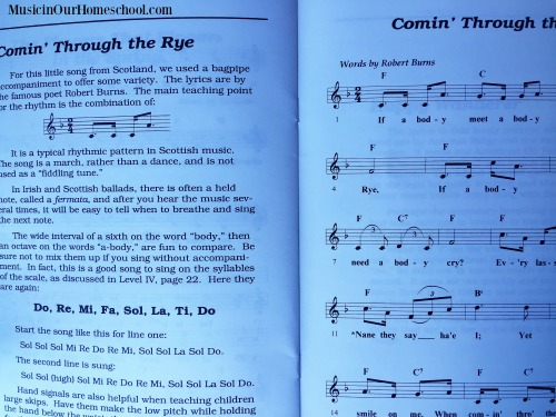 Singing Made Easy example page