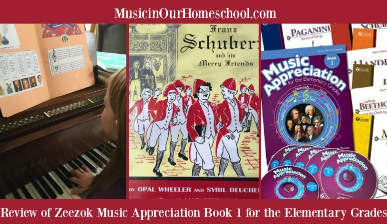 Review of Zeezok Music Appreciation Book 1 for the Elementary Grades