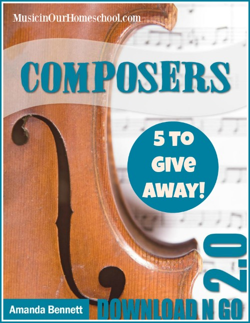 Composers Download N Go Unit Study giveaway (ends 11/14)