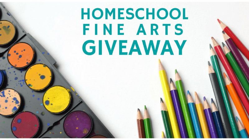 Homeschool Fine Arts Course Giveaway~ Art & Music Courses worth $700!