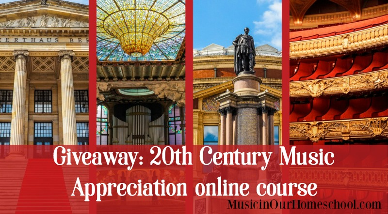 20th Century Music online course giveaway