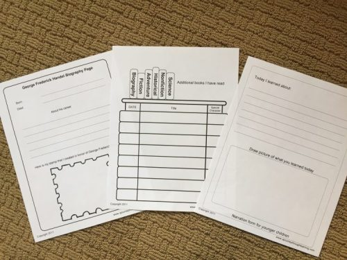 Fun Ways to Combine Lapbooks with Music Education