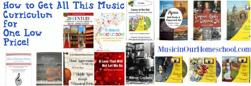 Music Curriculum in Build Your Bundle Sale