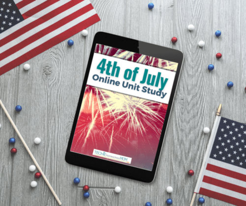 Fourth of July online unit study