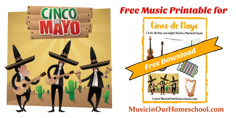 15-Minute Music Lesson for Cinco de Mayo free printable