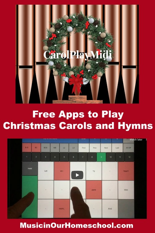 Free Apps to Play Christmas Carols and Hymns