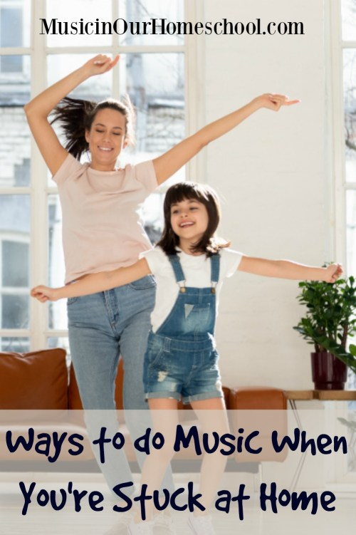 Here are some really fun and unique  Ways to do Music When You're Stuck at Home!