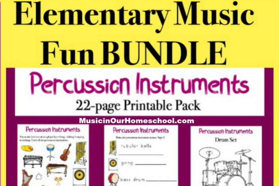 Elementary Music Fun BUNDLE
