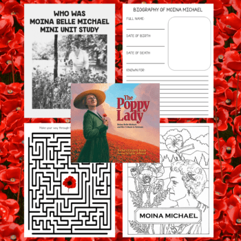 Moina Michael Unit Study: The Poppy Lady