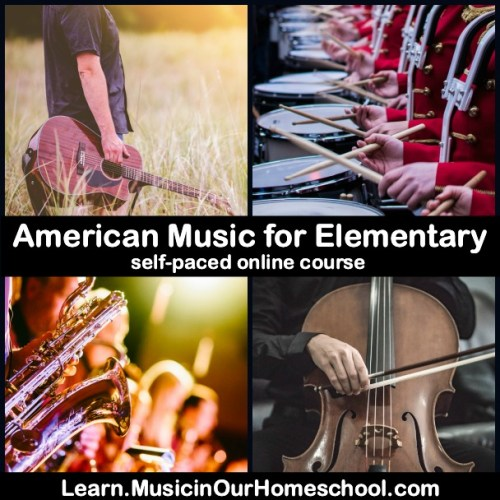 American Music for Elementary online course