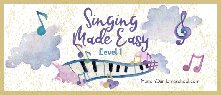 Singing Made Easy Level 1 beginning singing lessons course for all ages!
