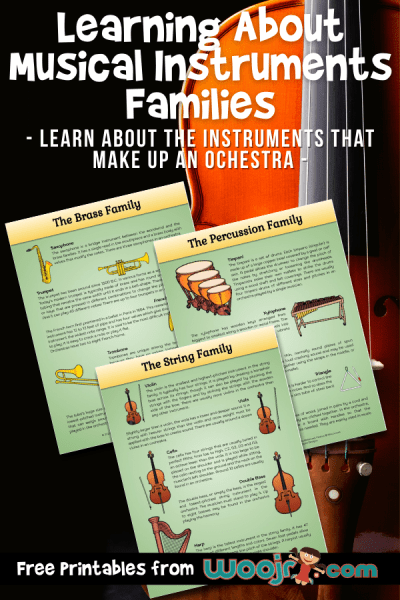 Learning about the Instruments of the Orchestra