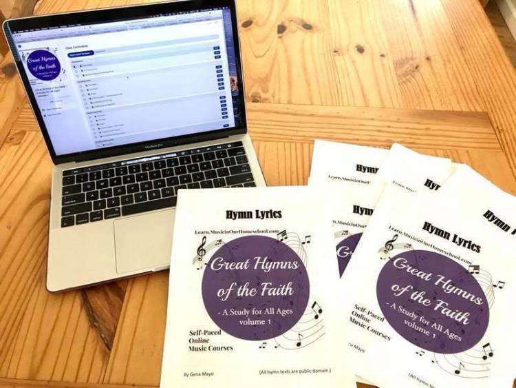 Great Hymns of the Faith Computer with Hymn Lyrics bookletsGreat Hymns of the Faith Computer with Hymn Lyrics booklets