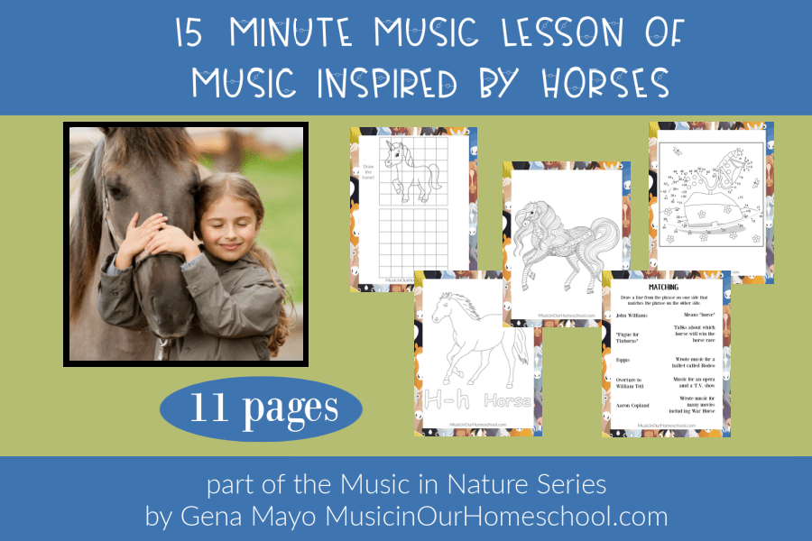 15-Minute Music Lesson of Music Inspired by Horses _ Music in Nature Series