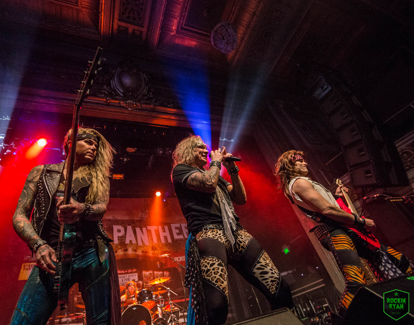 Catch Steel Panther out on their Sunset Strip Live Tour, check out photos  from SF show