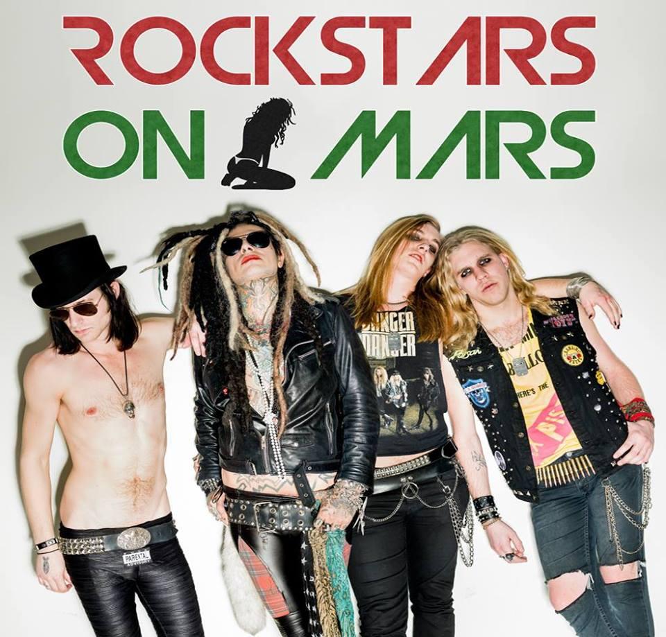 Rockstars On Mars Release Music Video For Fancy Panoucha
