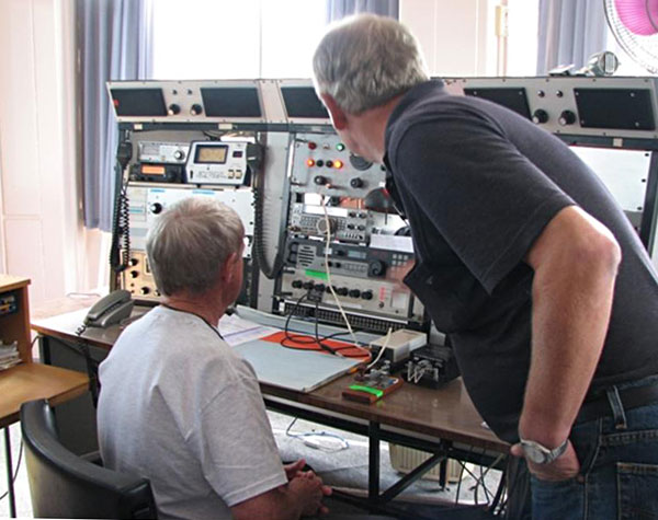 Preparing for the return of 500 kHz CW at Musick Memorial Radio Station
