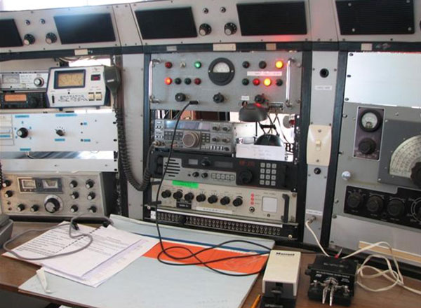 500kHz operating position at Musick Point Radio
