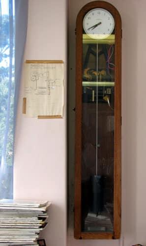 Musick Point Radio Station clock