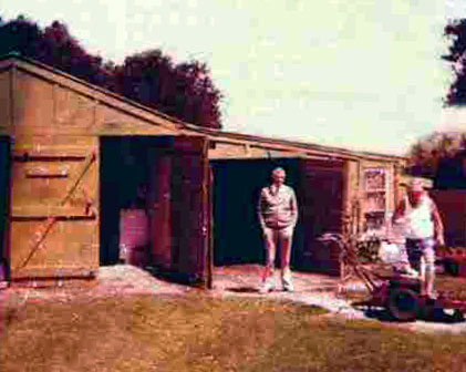 The old shed at Musick Point