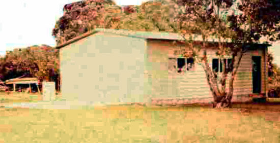 The new shed at Musick Memorial Radio Station, date unknown