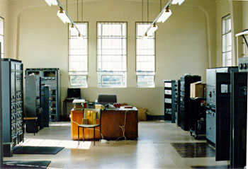 Transmitter Hall at Auckland Radio ZLD