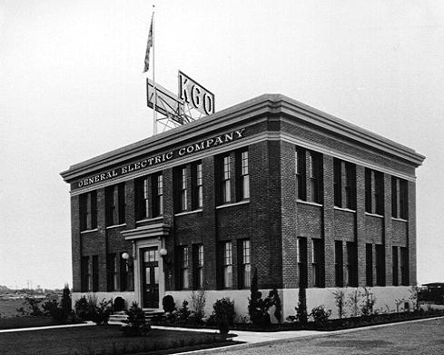 Original KGO Radio studio building