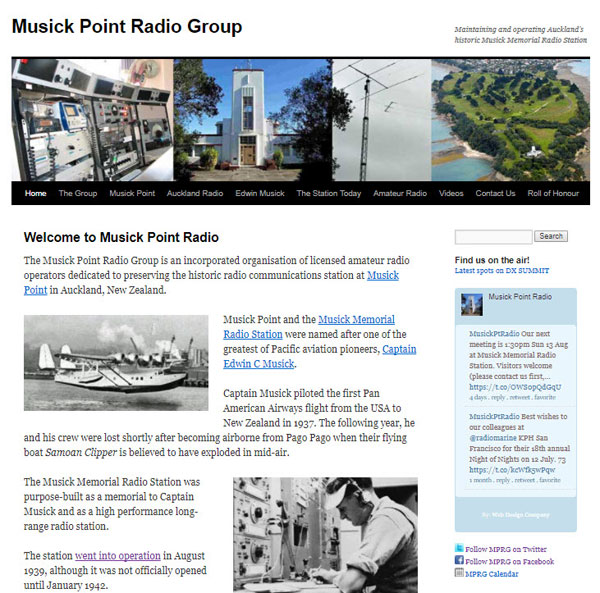 New website for Musick Point Radio Group