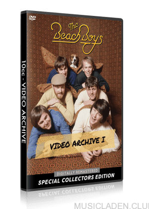 Beach Boys Video Archive I cover