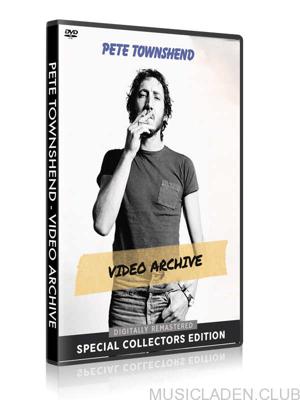 Pete Townshend - Video Archive DVD cover