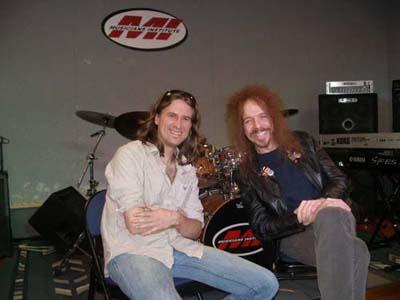 Claude Schnell and Jason Saulnier musicians institute